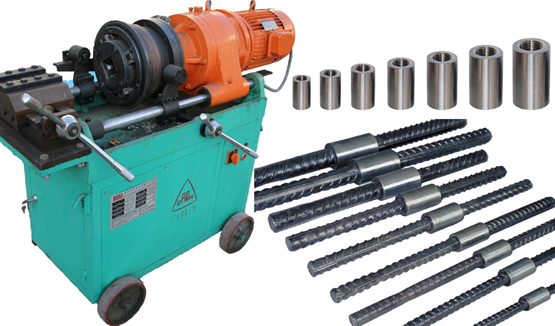 Parallel Thread Rebar Splicing with Rolled End