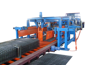 Automatic Steel Mesh Welding Line, Straight Bar + Straight Bar
