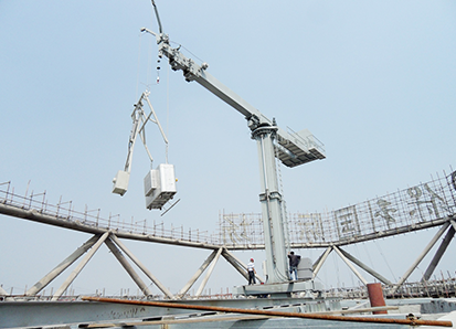 1. telescopic jib+telescopic column+extended cradle-1