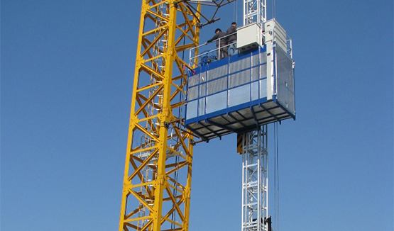 Building Hoist of Variable Speed
